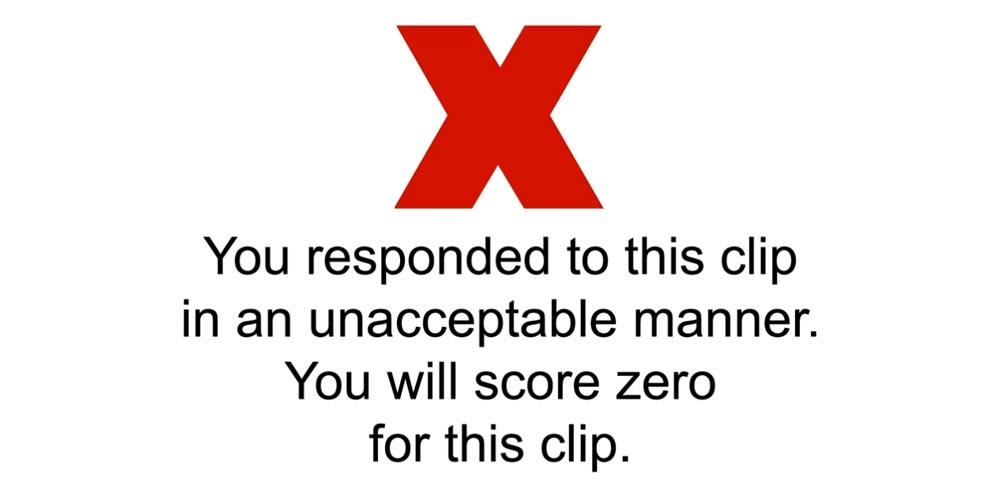 Hazard perception test cheating